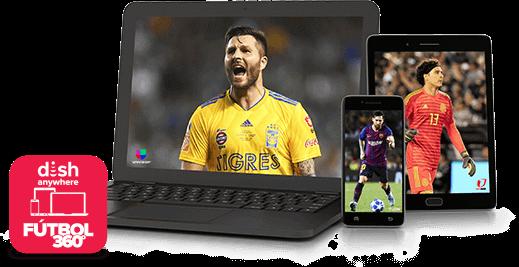 DISH Anywhere - Fútbol 360 - EPHRATA, WA - Lopez Satellite - Distribuidor autorizado de DISH