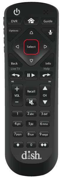 Control remoto de voz - EPHRATA, WA - Lopez Satellite - Distribuidor autorizado de DISH